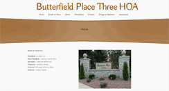 Preview of butterfieldplace3.org