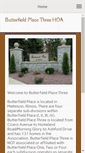 Mobile Preview of butterfieldplace3.org