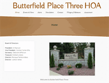 Tablet Preview of butterfieldplace3.org